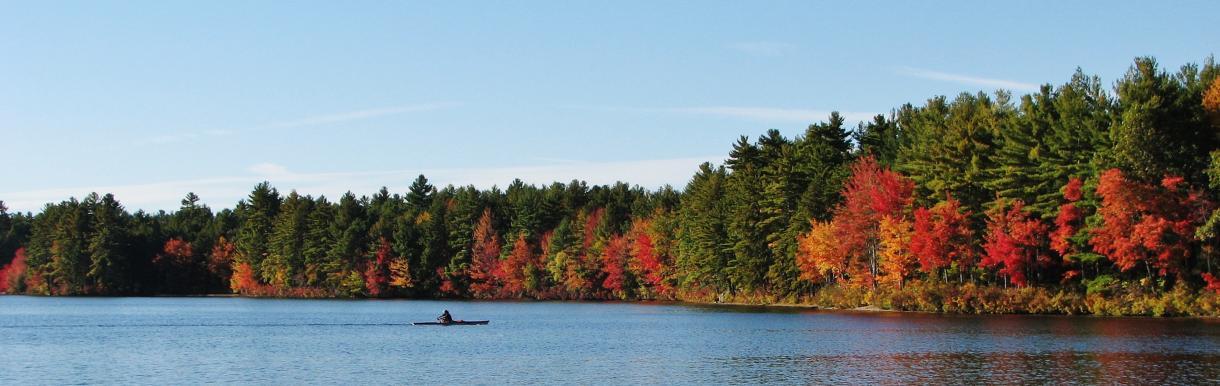 Fall on Lake Potanipo